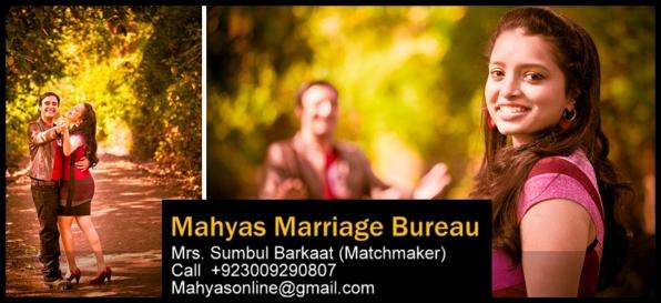 Karachi Marriage Bureau, Rishta Karachi, Karachi brides